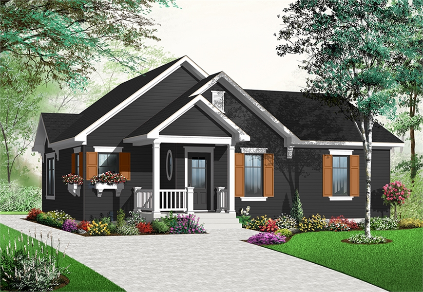 Front image of Erindale House Plan