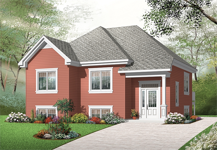 Front image of Aspendale House Plan