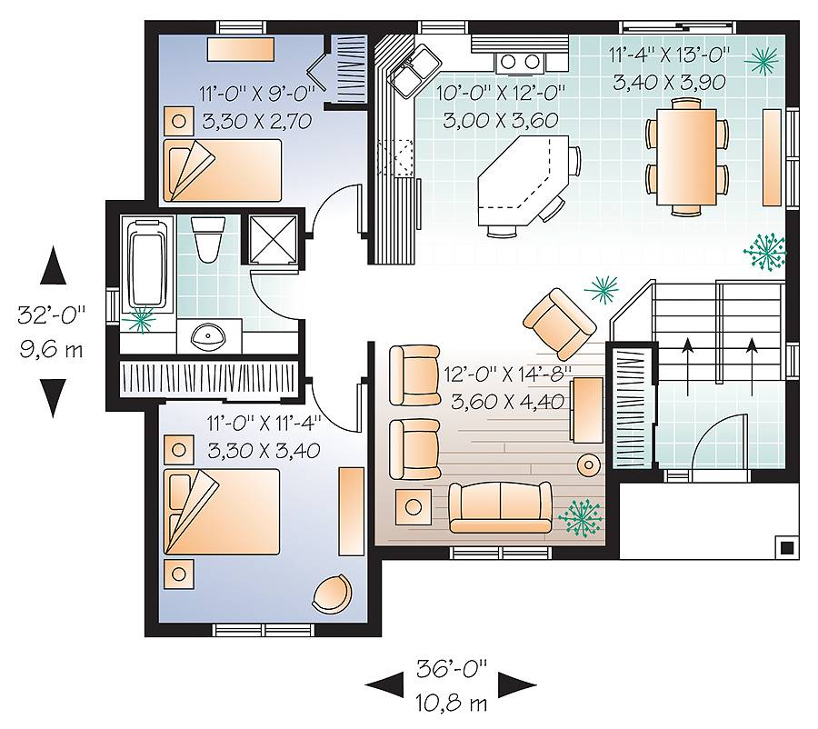 1st Floor Plan image of Aspendale House Plan