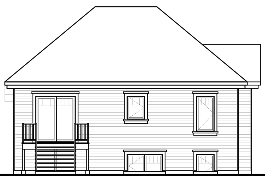 Rear Photo image of Aspendale House Plan