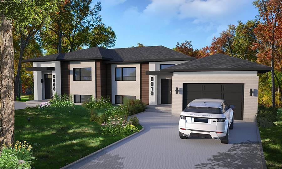 Front image of Paris House Plan