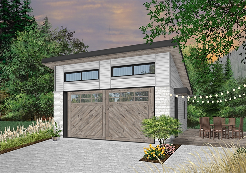 Front image of Urban Nature 3 House Plan
