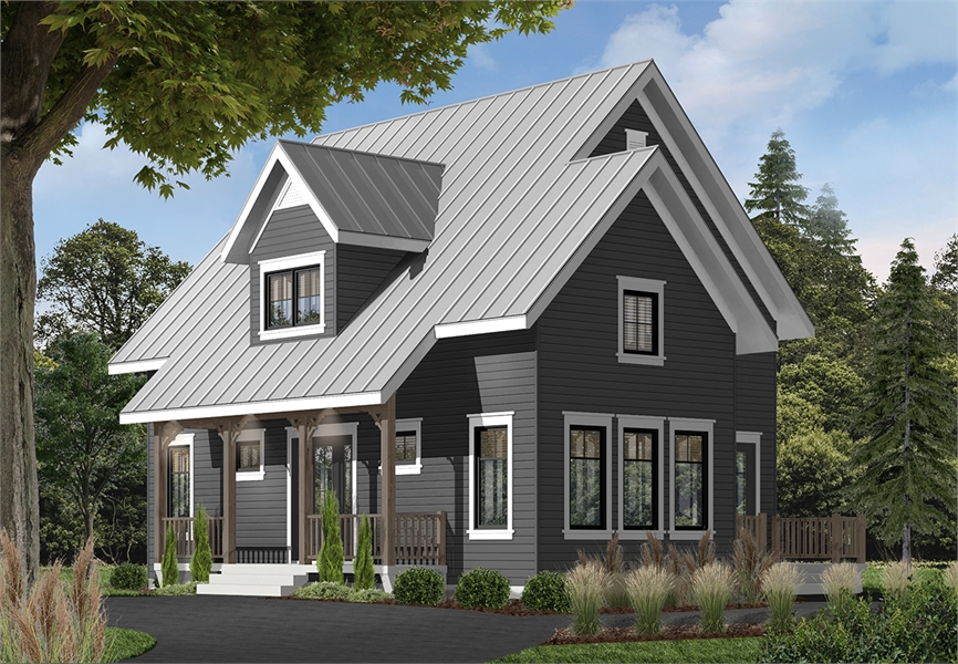 Front image of Bayview House Plan
