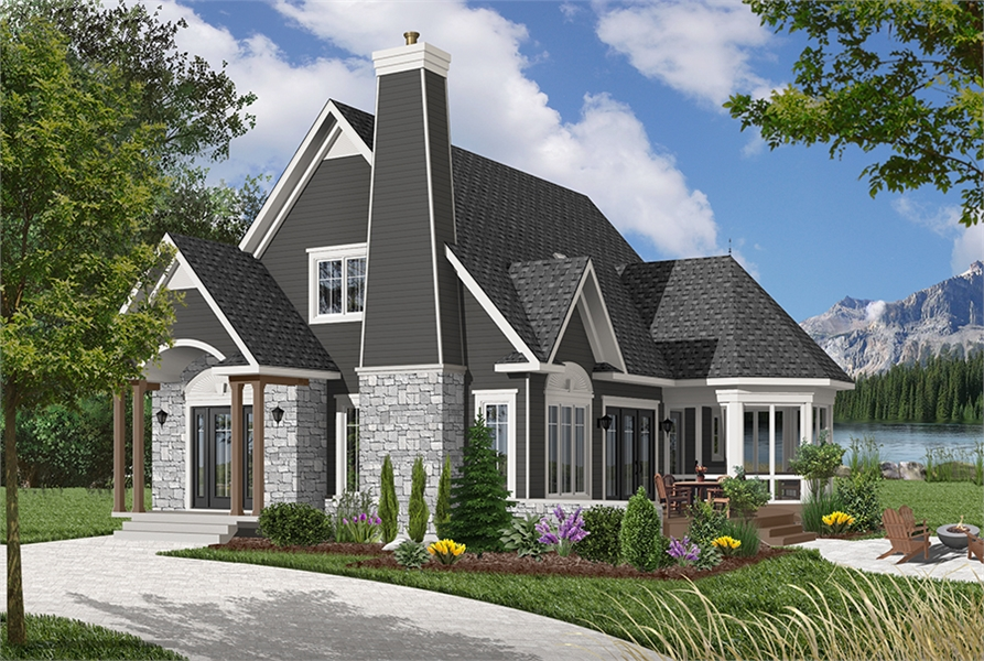 Front image of Cape Pelican 2 House Plan