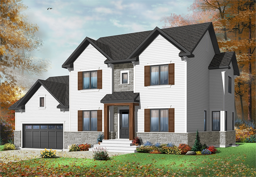 Front image of Gloria House Plan