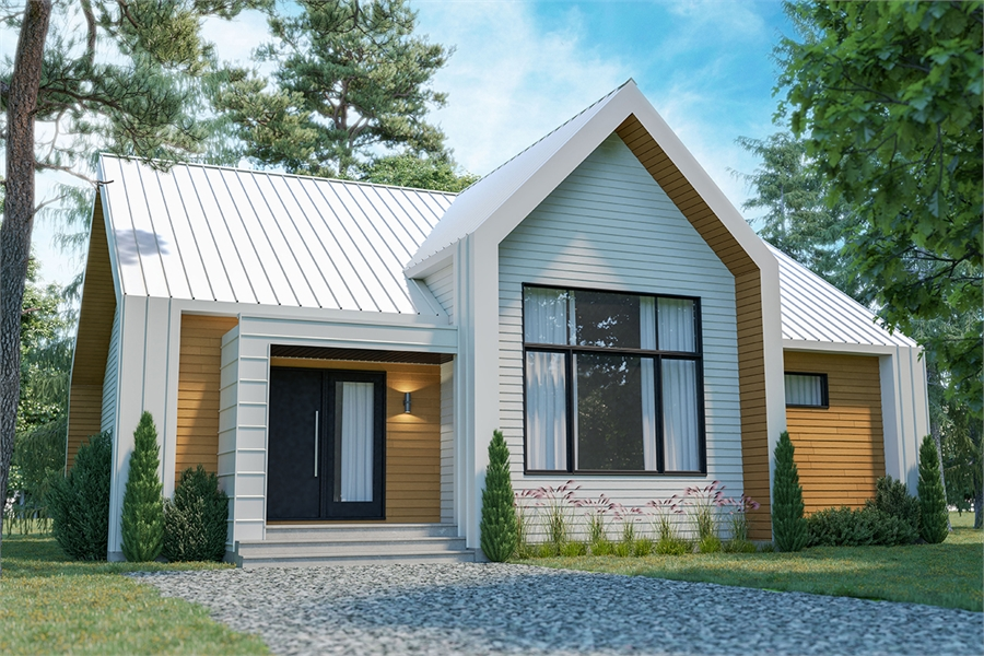Front image of Tahoe House Plan