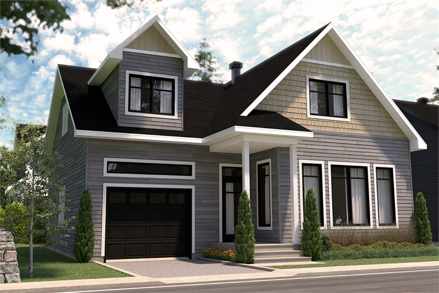 Front image of Augusta 2 House Plan