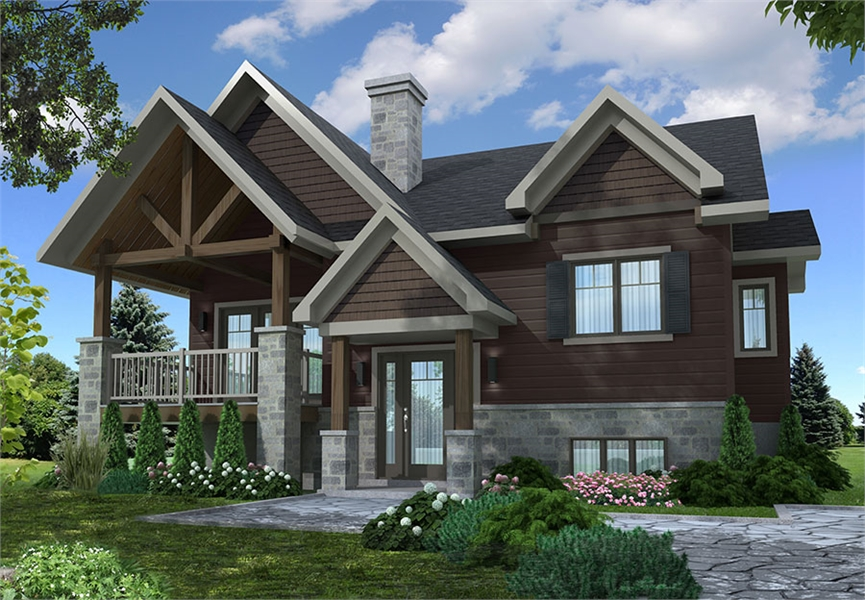 Front image of Lakewood House Plan