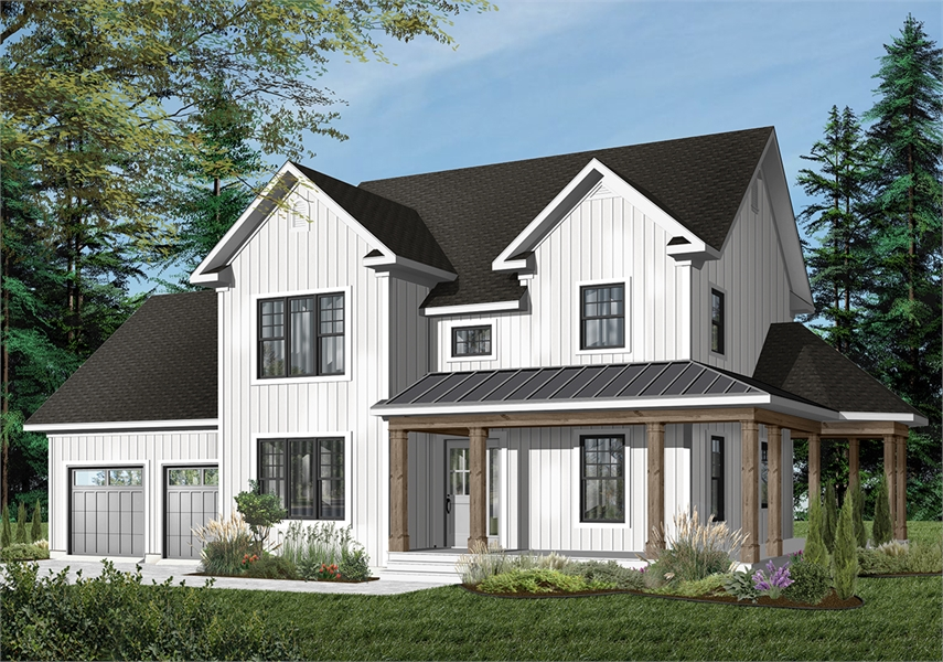Front image of 3861 House Plan