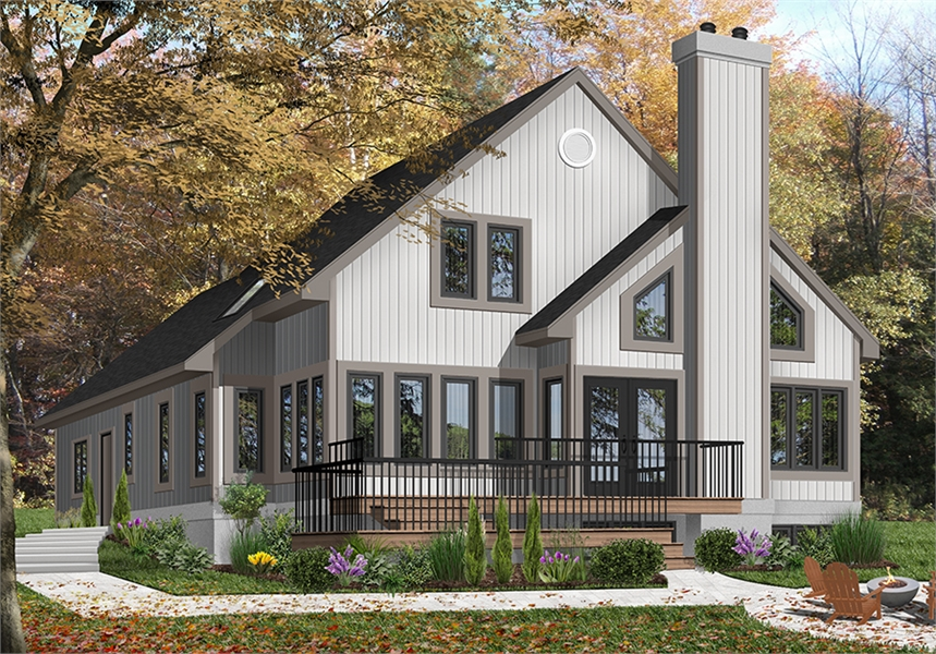 Front image of Grandmont House Plan