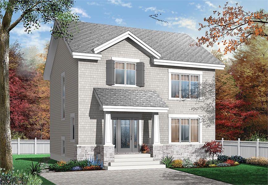 Front image of Marlowe House Plan