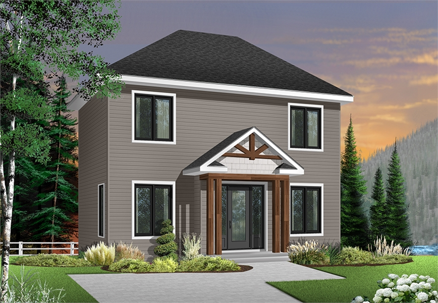 Front image of Duranel 4 House Plan