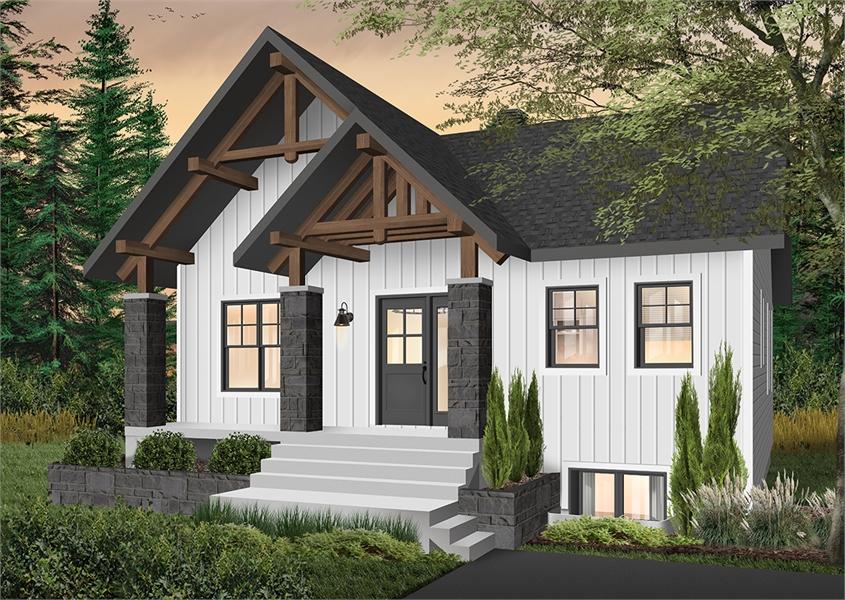 Front image of Nordika House Plan