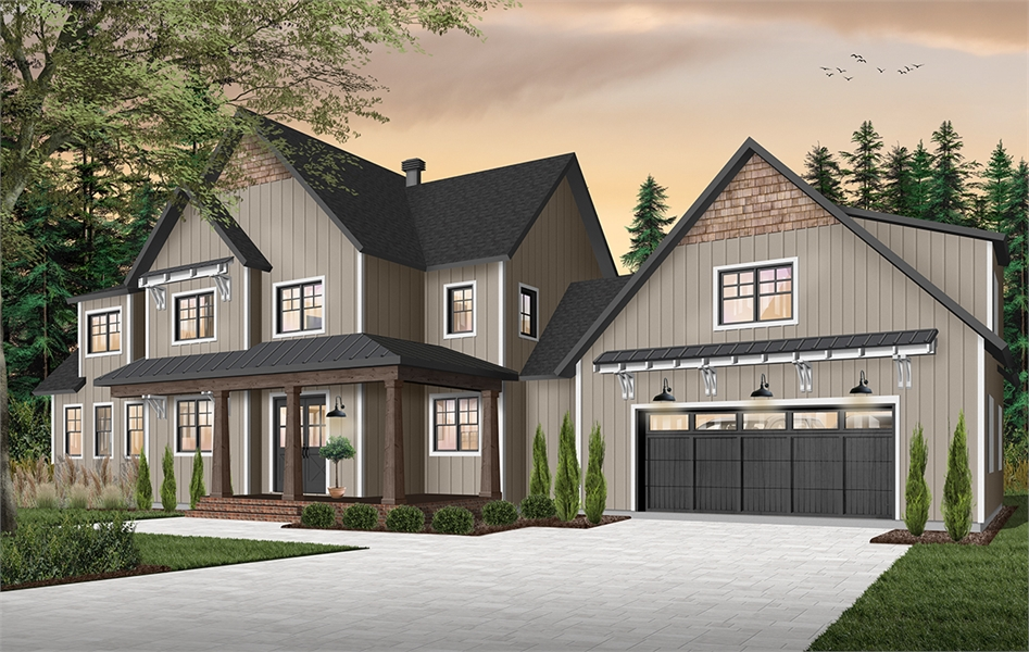 Front image of Midwest 2 House Plan