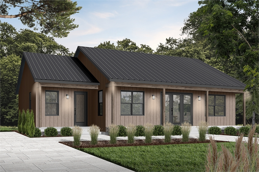 Front image of Beauford 2 House Plan