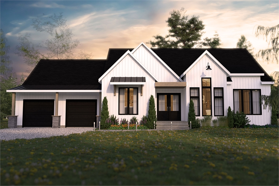 Front image of Maple Way House Plan
