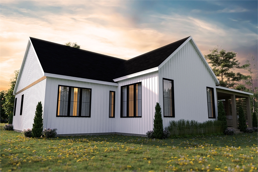 Rear view image of Maple Way House Plan