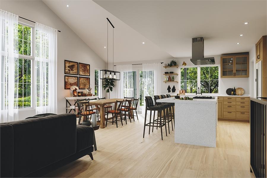 Main Living image of Barrington 4 House Plan