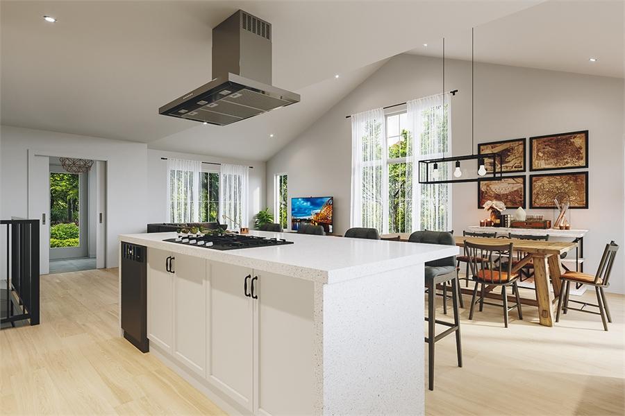 Kitchen image of Barrington 4 House Plan