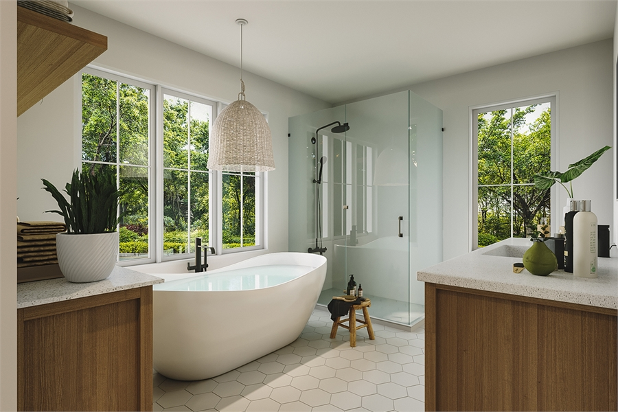 Bathroom image of Barrington 4 House Plan