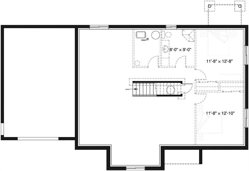 Basement image of Aspen Creek 2 House Plan