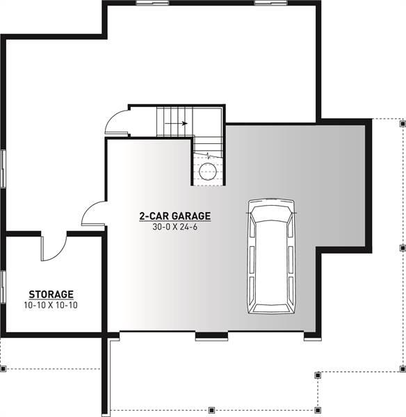 Basement image of The Pocono 4 House Plan