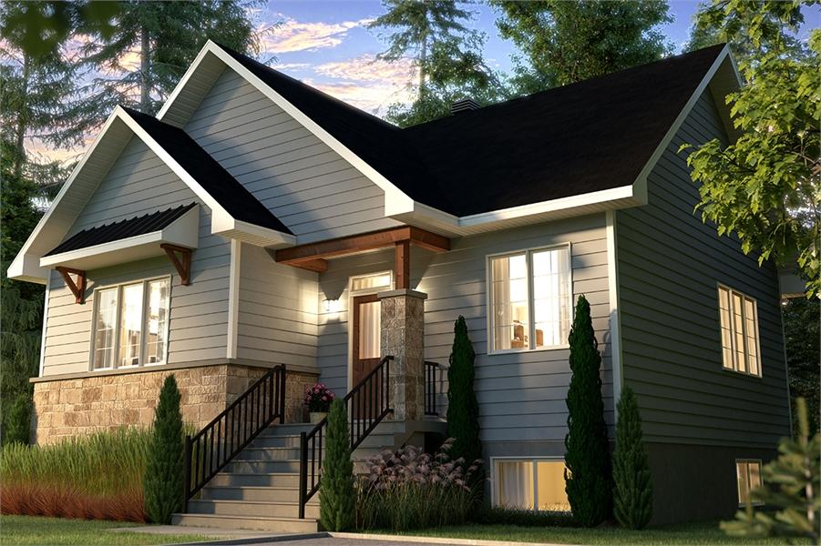 Front image of Kimiko House Plan