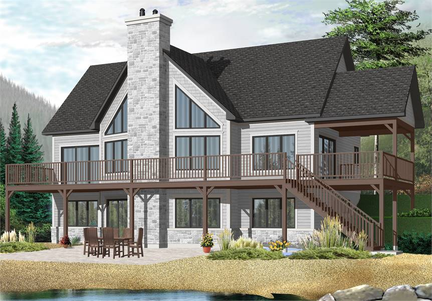 House Plan 7544: Beach Style Cottage Home
