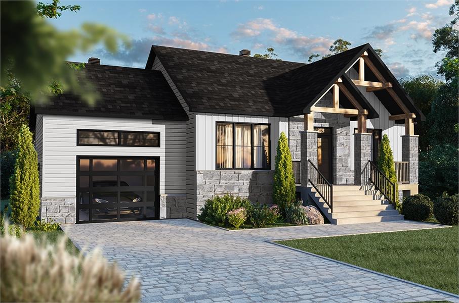 Front image of Nordika 2 House Plan
