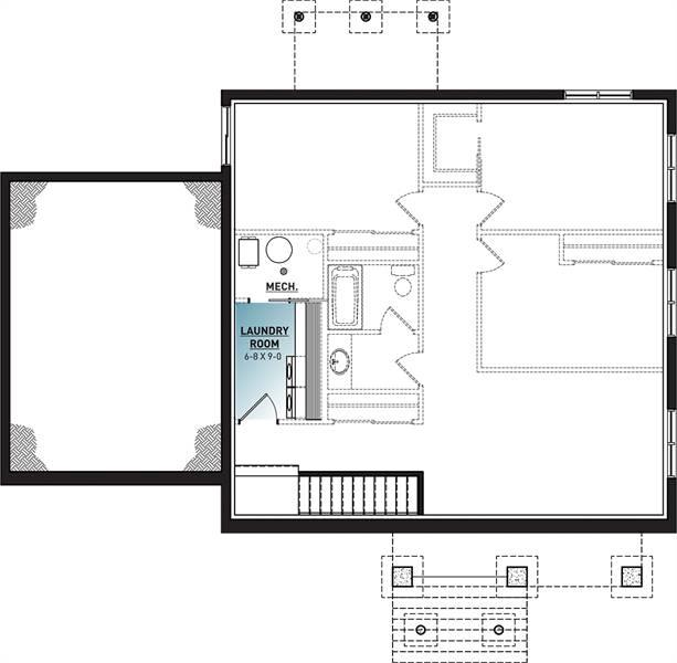 Basement image of Nordika 2 House Plan