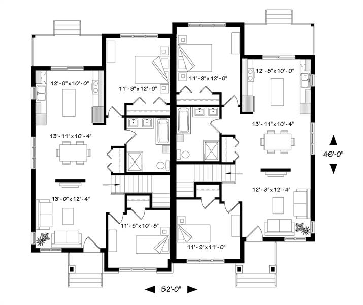 1st Floor Plan image of Furgeson House Plan