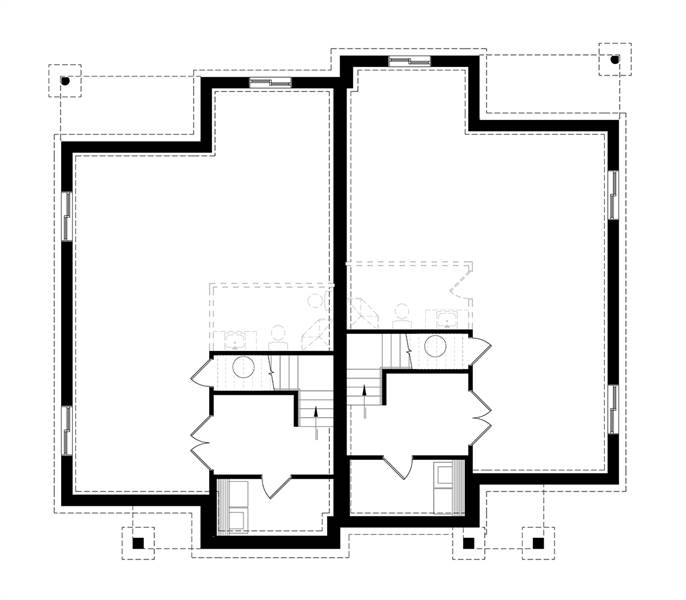 Basement image of Furgeson House Plan