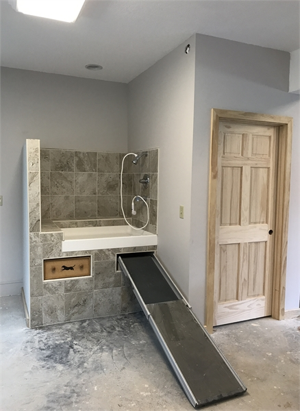 Dog Washing Station by DFD House Plans