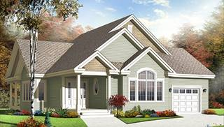 Accessible Home Floor Plans by DFD House Plans