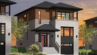 Contemporary House Plans by DFD House Plans