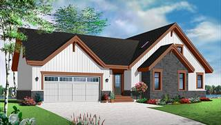 Dream Homes with In-Law Suite by DFD House Plans
