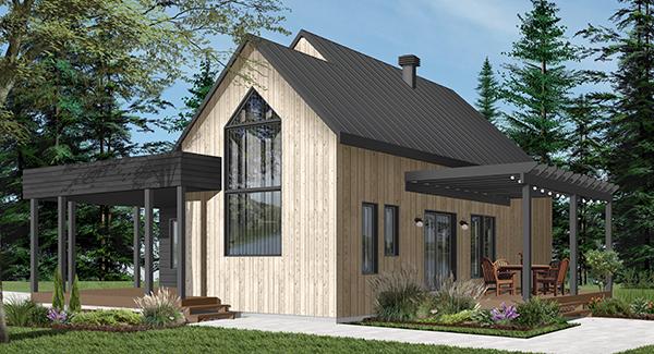 1051 final image of Bergen House Plan