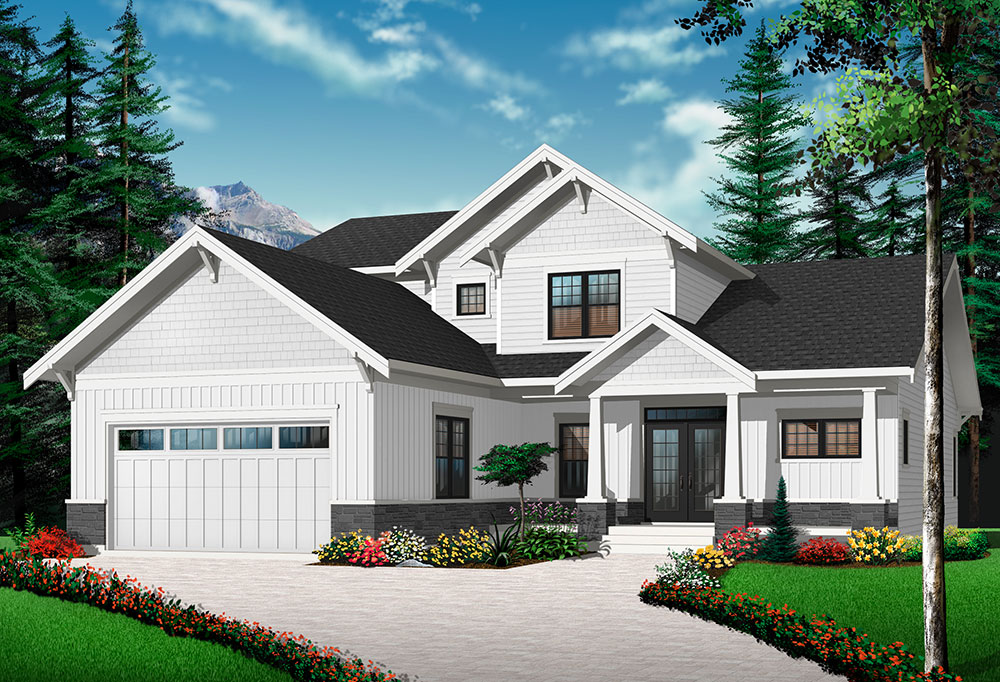 Front image of Anniston 2 House Plan