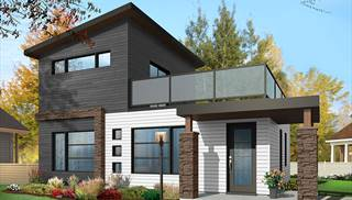 Rectangular House Plans – House Blueprints – Affordable Home Plans