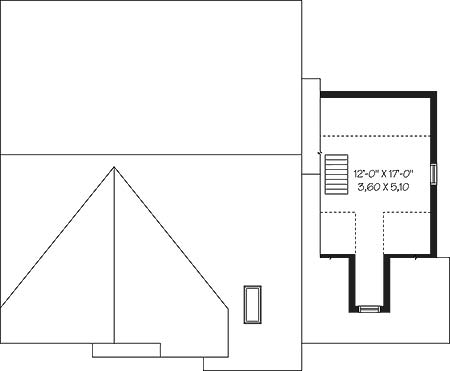 First level-option 1 by DFD House Plans