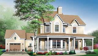 Beautiful Victorian Style Home Plans by DFD House Plans