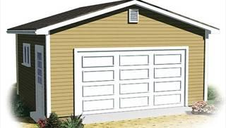 Single Car Garage Plans by DFD House Plans