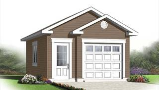 Unique Single Car Garage Plans by DFD House Plans