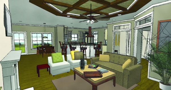 inside view1 image of McHenry Rush House Plan