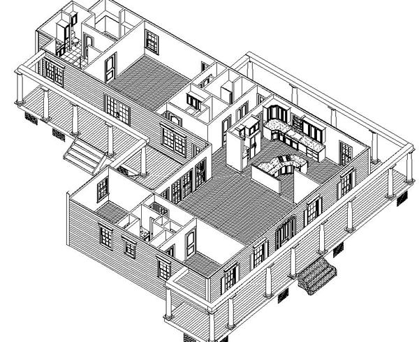 inside view1 by DFD House Plans