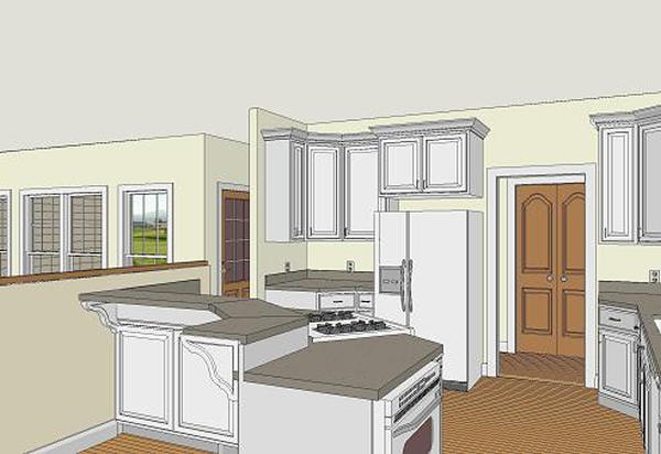 inside view 4 by DFD House Plans