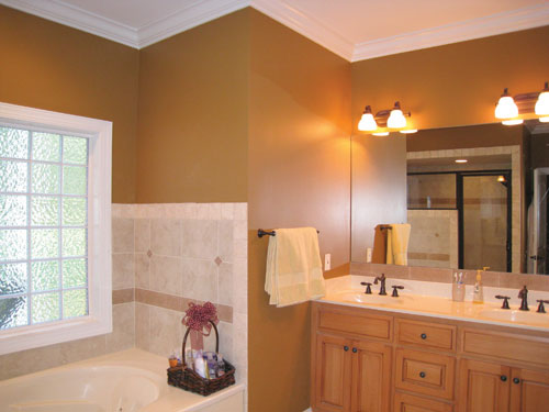 Master Bath Photo by DFD House Plans