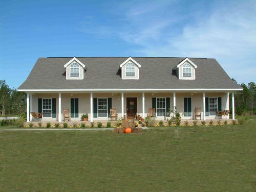 large elevation by DFD House Plans
