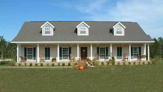 Farmhouse Plans with Great Master Suite by DFD House Plans
