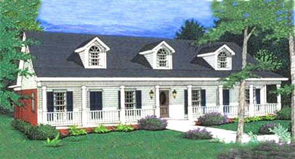 Color Picture 3 by DFD House Plans